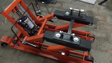 Auto Aufbocken Ohne Hebeb Hne by Yamaha Xv 535 Hebeb 252 Hne Montagest 228 Nder Aufbocken