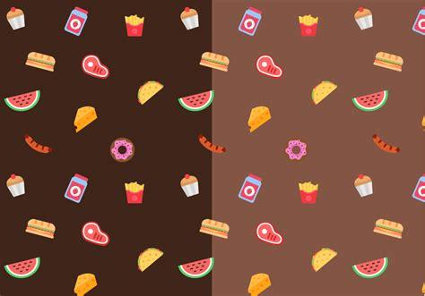 food vector free food pattern vector download free vector art stock