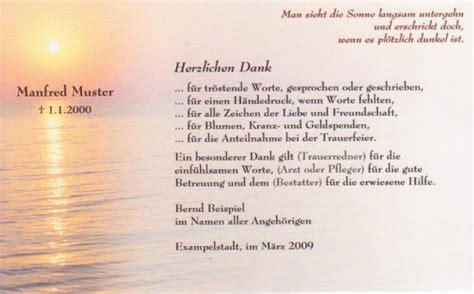 Muster Wohnungskündigung Im Todesfall Danksagungskarte Beerdigung Sonnenuntergang Trauer