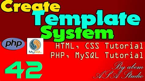 css tutorial english create template system 42 frame background size php