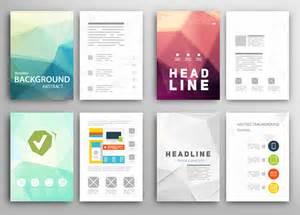 templates for ebooks 精美的传单排版设计矢量素材 素材中国16素材网