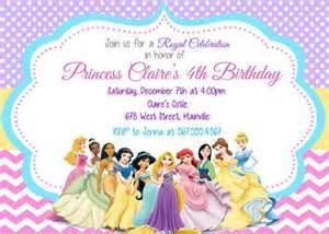 top 25 best disney princess invitations ideas on princess birthday invitations