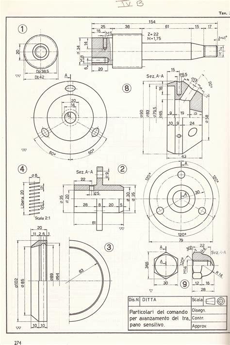 disegno meccanico dispense disegni 1 176 quadrimestre 2011 2012 antonio matteacci