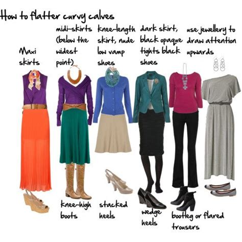 what hair style should fat women wear how to flatter wide calves inside out style
