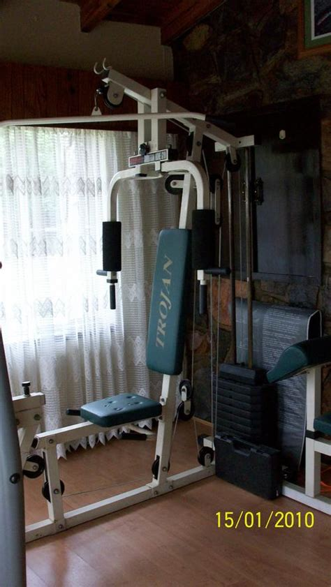 elliptical trainers trojan ambition complete home