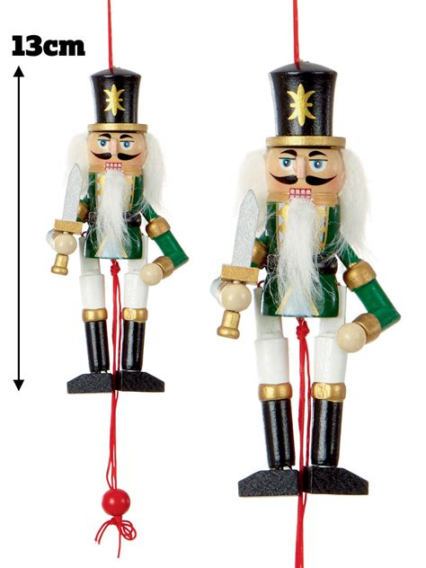 nutcracker ornaments uk nutcracker tree decoration wooden hanging