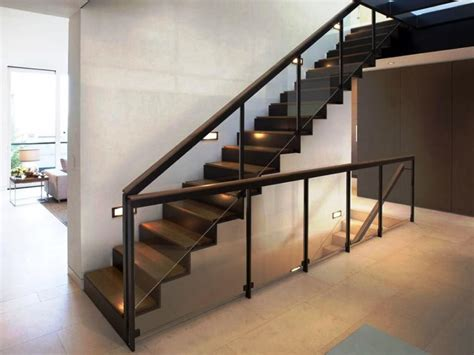 modern banisters and handrails contemporary stair railing ideas invisibleinkradio home