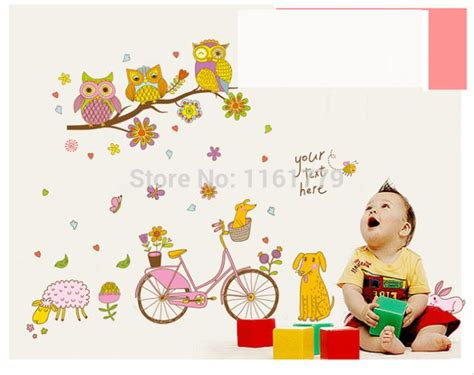 Wall Sticker Wall Stiker Stiker Dinding Animal Pororo Ay9175 jual animal park abc1042 stiker dinding wall sticker