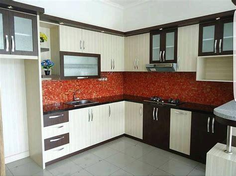 gambar kitchen set  dapur minimalis idaman home
