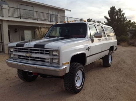 1987 chevrolet 4x4 for sale 1987 chevy suburban 4x4 classic chevrolet suburban 1987