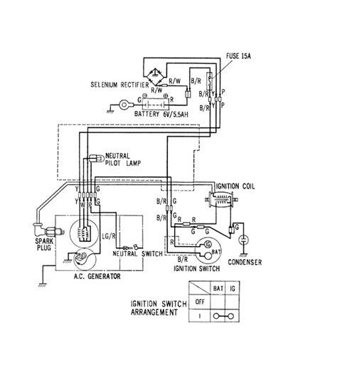 honda 1967 trail 90 wiring diagram wiring diagrams