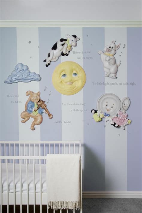 Nursery Rhyme Decor Goose Nursery Rhymes 3d Wall Decor By Beetling Design Php Baby Makes Three Four