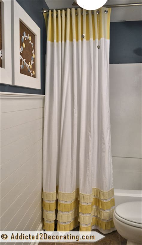 how to make long curtains bathroom makeover day 19 20 how to make an extra long