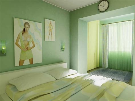 green wall paint bedroom decorating ideas light green walls and black