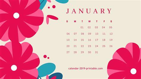 january  calendar wallpapers wallpapersafari