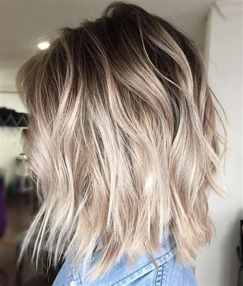 beautiful blonde balayage  ash blonde balayage