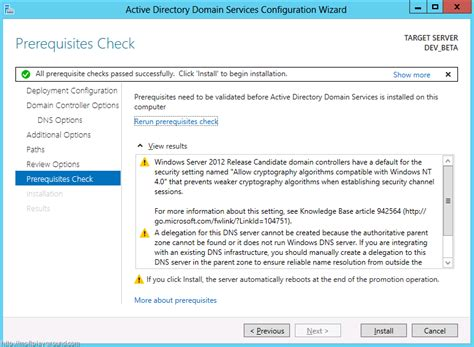 active directory activedirectory domain service wizard