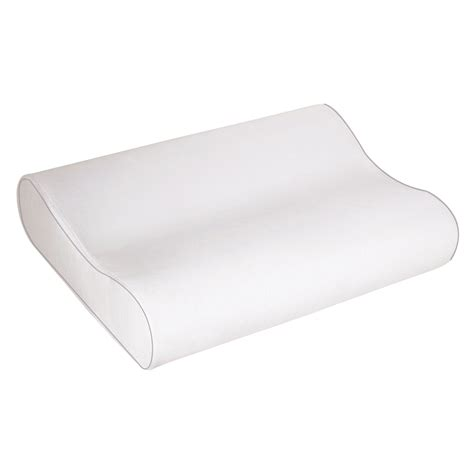 memory foam bed pillow contour memory foam pillow sleep innovations