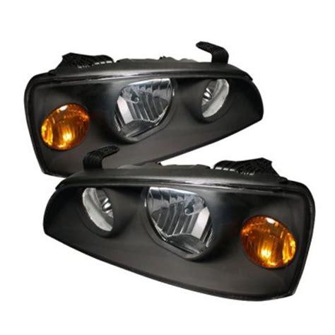 2004 Hyundai Elantra Headlights by Hyundai Elantra 2004 2006 Black Headlights