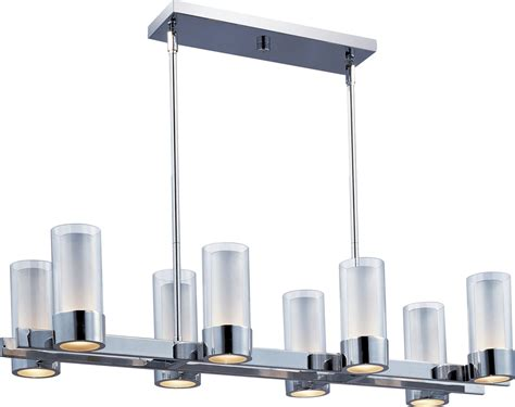 contemporary kitchen light fixtures maxim lighting 23079clftpc silo modern contemporary