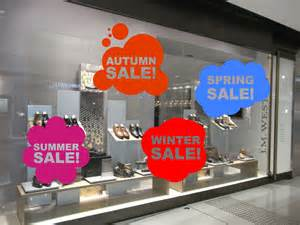 Shop Front Window Stickers Sale Window Signage Pack Crazy Cool