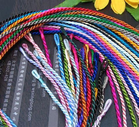 Anting Korea Multicolor Silk Thread Earrings free shipping 500pcs mixed color braided korean silk