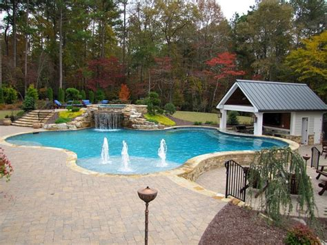 pool companies in atlanta atlanta pool builder freeform in ground swimming pool