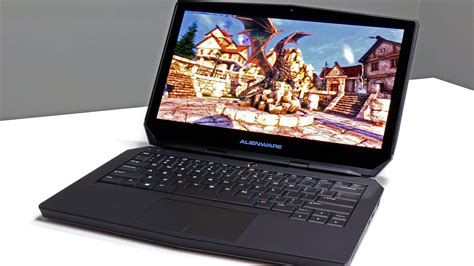 alienware 13 oled laptop review hardware