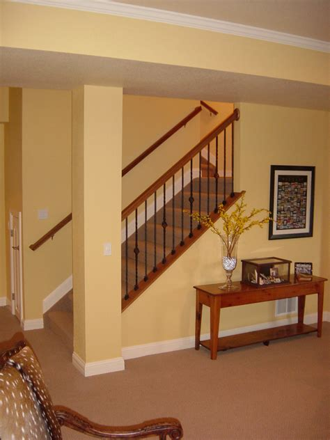 basement stairs when homes are constructed with unfinished basements the