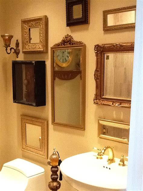 mirrors for powder room 25 best ideas about powder room mirrors on