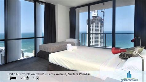 the bedroom surfers paradise apartment 1461 circle on cavill surfers paradise