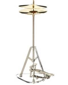 Hi hat cymbal personalized ornament