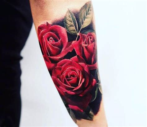 rose tattoos on men top 55 best tattoos for improb