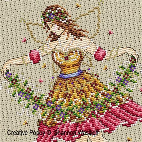 cross stitch pattern design your own shannon christine designs garden fairy cross stitch