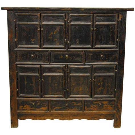 black armoires for sale 18th century chinese black elmwood armoire shanxi