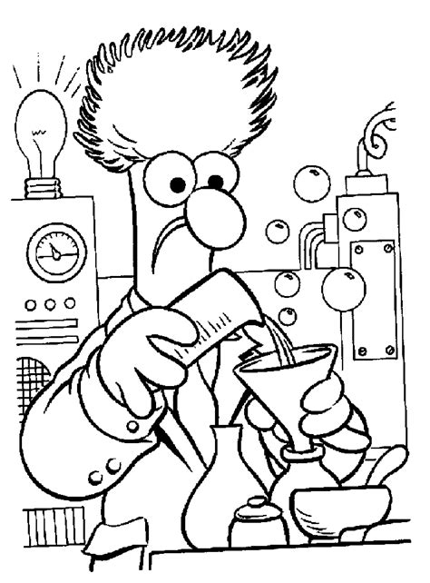 Science Lab Coloring Pages Coloring Home Coloring Pages Science