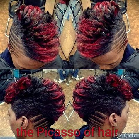 chicago hair style boyz cute the picasso of hair chicago cute hairstyles pinterest