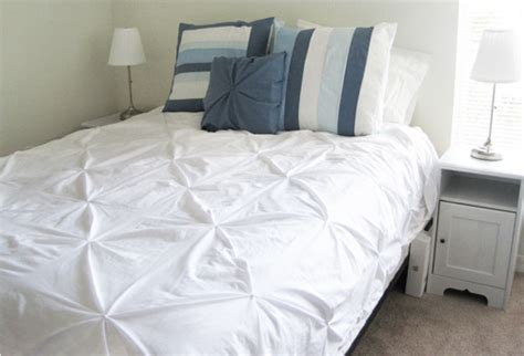 sewing a comforter knotted duvet cover tutorial