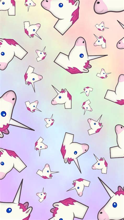 wallpaper iphone 5 unicorn unicorn emoji iphone 5 5c 5s wallpaper on we heart it