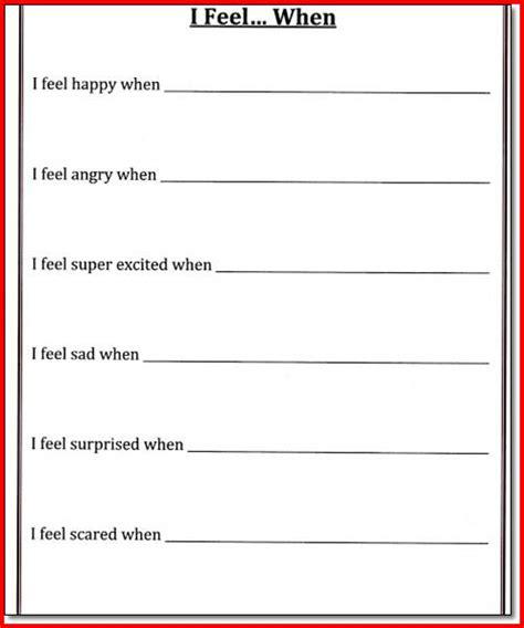 Managing Impulsivity Worksheets by Worksheet Impulse Worksheets For Caytailoc