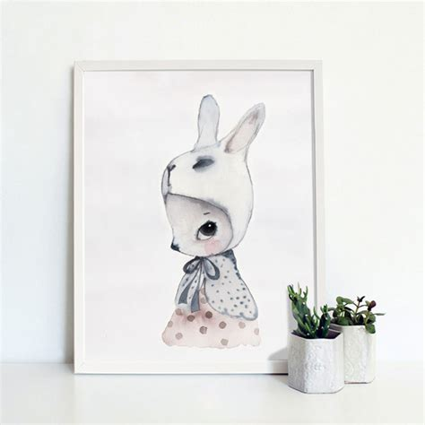 rabbit home decor rabbit pattern pictures modern home wall decor canvas oil