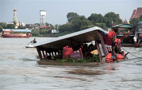 thailand news boat crash at least 13 reported to be killed in thailand boat