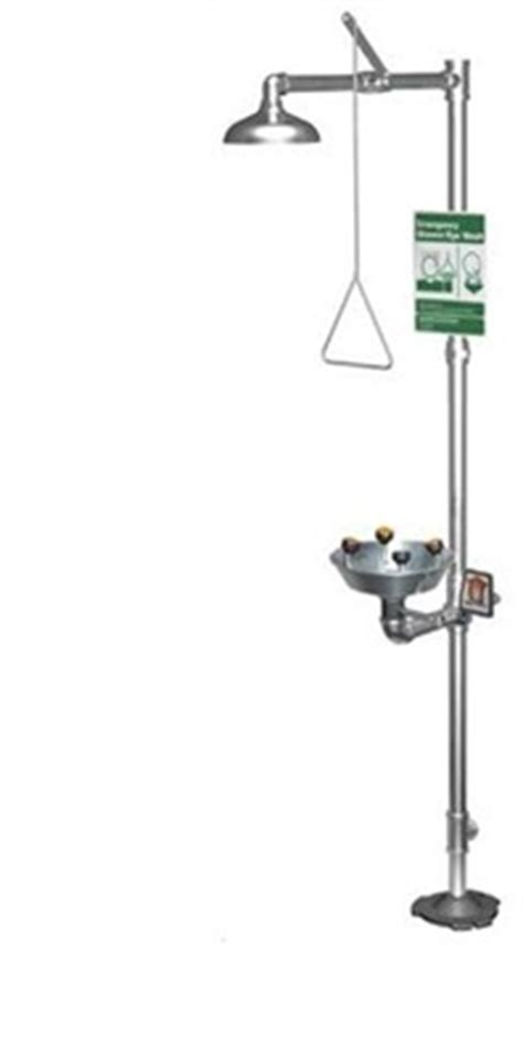 Guardian Safety Shower by Guardian Equipment G1902pssh Safety Shower Station With
