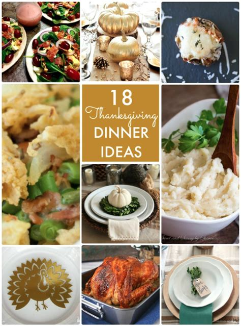 great ideas thanksgiving dinner ideas