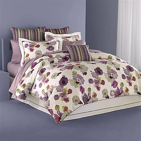 wamsutta comforter sets wamsutta 174 floral reflections full comforter set bed bath
