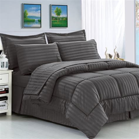 Jual Duvet by Andover Mills Haliburton 8 Reversible Comforter Set