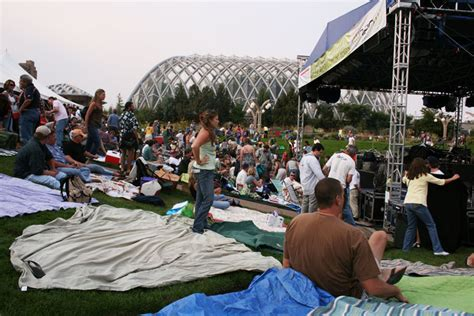 Botanic Garden Concert Did You Get Up And Denver Botanic Gardens
