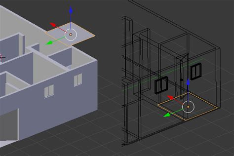blender 3d tutorial architecture create a 3d floor plan model from an architectural