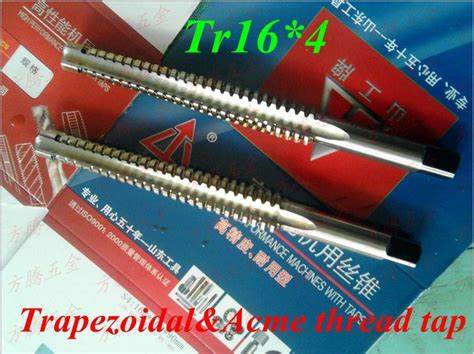 aliexpress buy 1pc trapezoidal metric thread tap tr