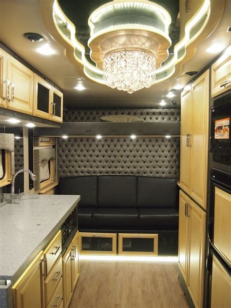 luxury trucks inside what do luxury sleeper cabs for long haul truck drivers